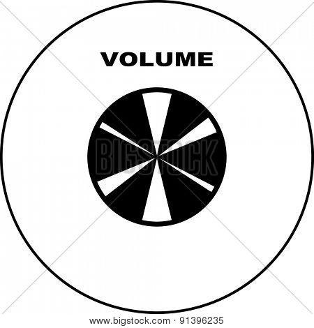 volume knob symbol
