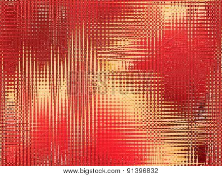 Red And Yellow Abstract Texture