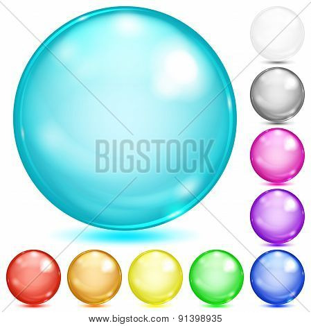 Multicolored Opaque Spheres