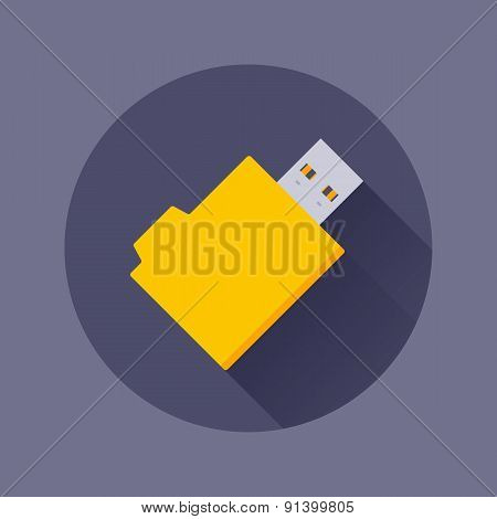 USB flash-drive icon