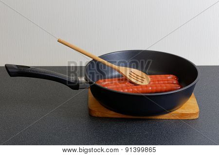 Pan Grill With Sausage