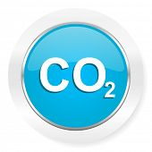 picture of carbon-dioxide  - carbon dioxide icon co2 sign