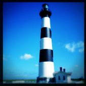 image of outer  - Instagram filtered image of Bodie Lighthouse - JPG