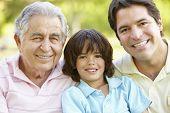 picture of grandfather  - Hispanic Grandfather - JPG