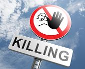 image of guns  - stop killing no guns ban weapons end the war and violence - JPG