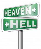 image of hells angels  - heaven or hell - JPG