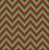 image of knitting  - Fair Pattern sweater design on the wool knitted texture - JPG