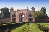 picture of india gate  - Gate to Itmad - JPG