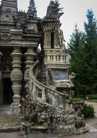 pic of cheval  - Image of ideal Palace of Postman Cheval France - JPG