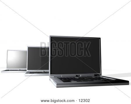 Three Laptops