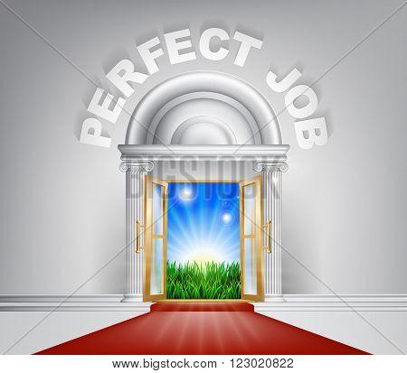 Perfect Job Door Concept