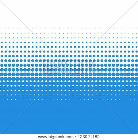 Background of turquoise dots with soft transition to white