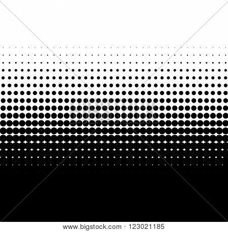 Background of black dots with soft transition to white
