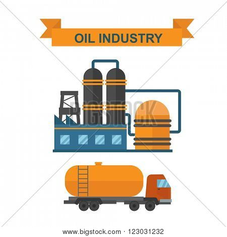 Oil gas industry manufacturing and oil gas icons. World oil gas production infographic distribution and petroleum extraction rate business infochart diagram report presentation design vector.