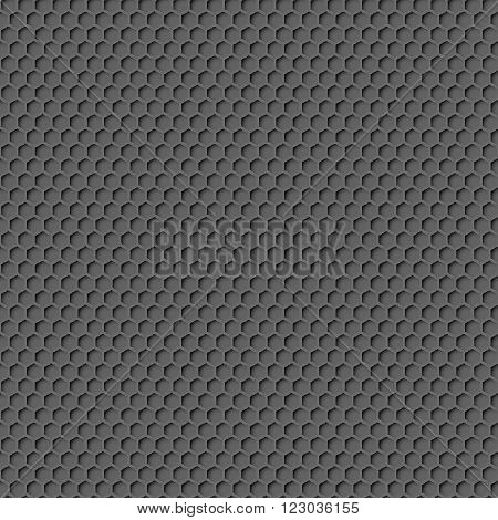 Metal Honeycomb Background