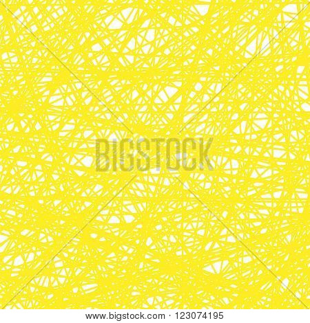 Abstract Yellow Line Background. Grunge Yellow Line Pattern