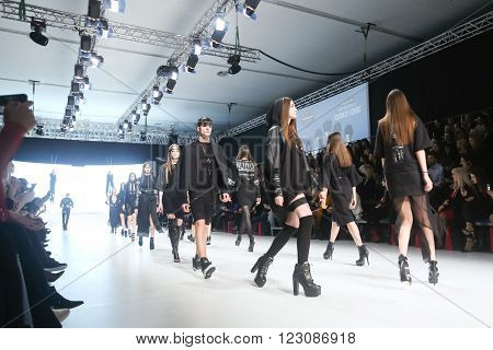 Bipa Fashion Show: Coded Edge, Zagreb, Croatia.