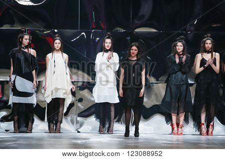 Bipa Fashion Show: Ana Marija Ricov, Zagreb, Croatia.