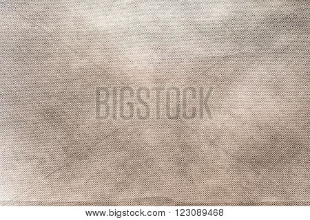 Gray fabric texture with large homogenous cells.