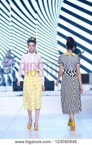 Bipa Fashion Show: Zoran Aragovic, Zagreb, Croatia.