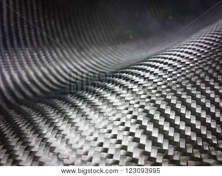 black carbon fiber industrial composite material background