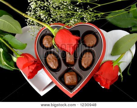 Valentine Gift & Roses