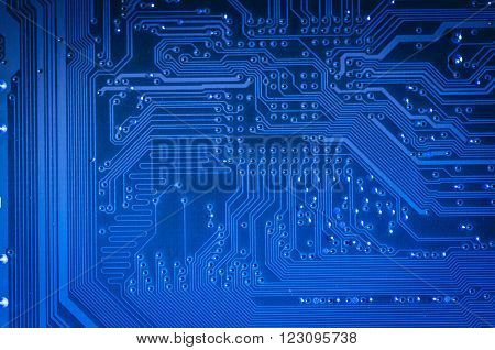 Circuit, Motherboard, computer and electronics modern background