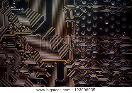 Electronic, Motherboard, computer and electronics modern background