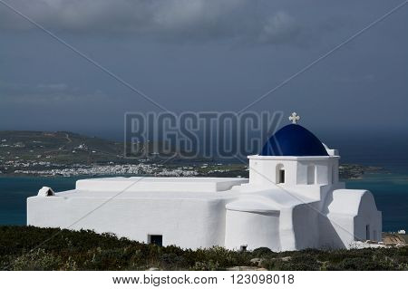 Chapel Near Sarakiniko, Paros, Greece
