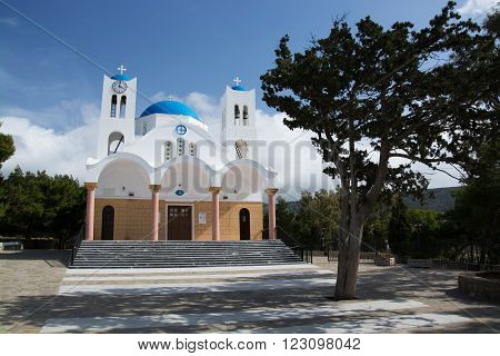 Church At Agkeria, Paros, Greece
