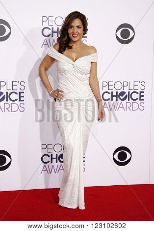 Maria Canals Barrera at the 41st Annual People's Choice Awards held at the Nokia L.A. Live Theatre in Los Angeles on January 7, 2015.