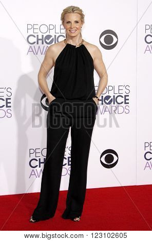Monica Potter at the 41st Annual People's Choice Awards held at the Nokia L.A. Live Theatre in Los Angeles on January 7, 2015.