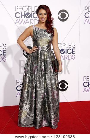 Jillian Rose Reed at the 41st Annual People's Choice Awards held at the Nokia L.A. Live Theatre in Los Angeles on January 7, 2015.