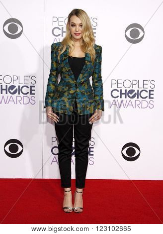 Sadie Calvano at the 41st Annual People's Choice Awards held at the Nokia L.A. Live Theatre in Los Angeles on January 7, 2015.