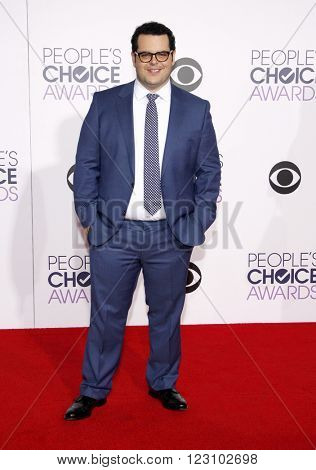 Josh Gad at the 41st Annual People's Choice Awards held at the Nokia L.A. Live Theatre in Los Angeles on January 7, 2015.
