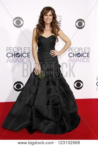 Nikki Deloach at the 41st Annual People's Choice Awards held at the Nokia L.A. Live Theatre in Los Angeles on January 7, 2015.