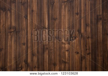 Old grunge dark brown wood plank pattern with beautiful abstract surface use for texture background backdrop or design element