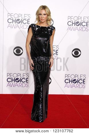 Desi Lydic at the 41st Annual People's Choice Awards held at the Nokia L.A. Live Theatre in Los Angeles on January 7, 2015.