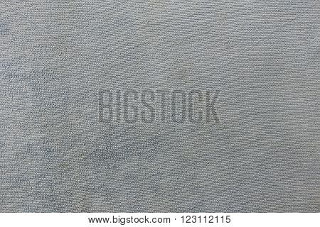Gray color Texture of microfiber Cloth for the design background.