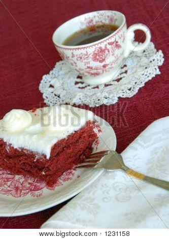 Cake And Coffee Dessert