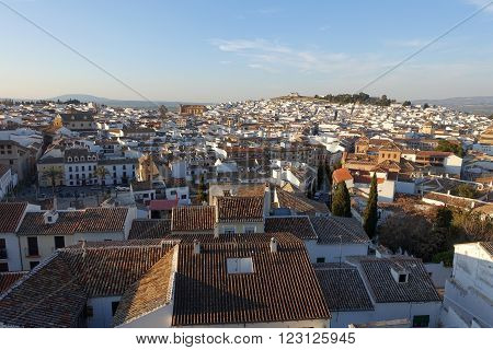 The town of antequera in Andalucia southern Spain