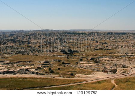 Badlands National Park South Dakota United States