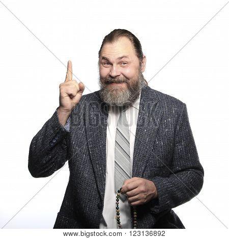 Portrait Of A Man In Suit