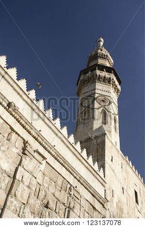 Middle East Syria Damaskus Umayyad Mosque