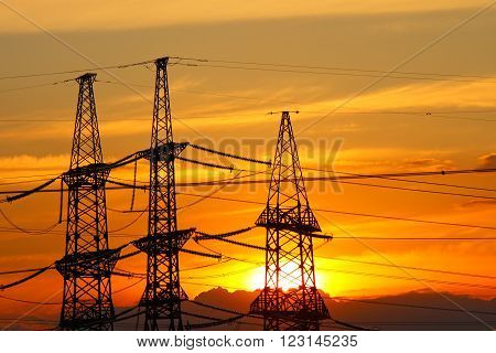 Industrial electric equipment. Sale and electricity generation.