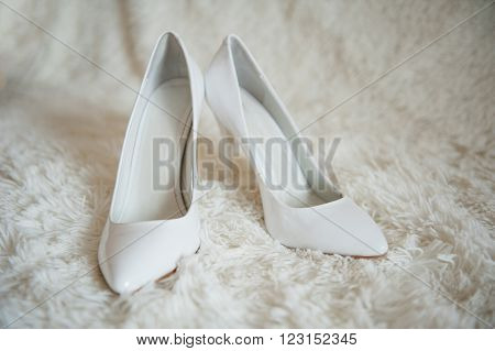 Sharp White Shoes