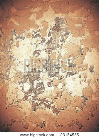 Abstract stonework background texture with old weathered dark stucco black paint stone cement wall in rural room Grungy warm rock surface in hard grime empty place with red specks granite light floor