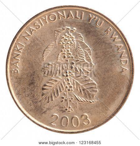 Rwanda Franc Coin