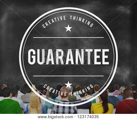 Guarantee Commerce Insurance Promise Service Concept