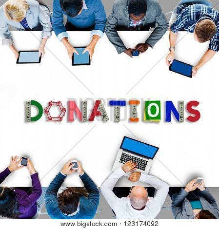 Donate Give Charity Help Contribute Concept